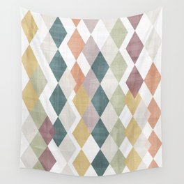 Rhombuses 2 Wall Tapestry