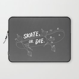 Skate Or Die Drawing Laptop Sleeve