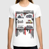cities T-shirts featuring Cities 2 by sladja