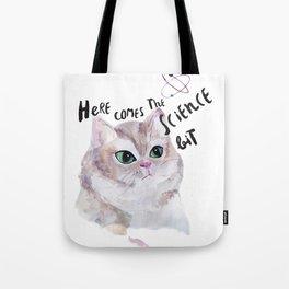 Science Cat Tote Bag