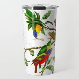 Painted Finch Bird Travel Mug