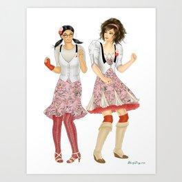 Fashion Journal: Day 24 Art Print