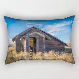 Chicken House, Backroads Farmstead, Valley County, MT Rectangular Pillow