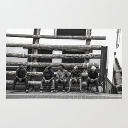 Workers in spare time Rug