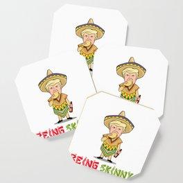 Eat Tacos - Donald Trump - Cinco De Mayo Coaster