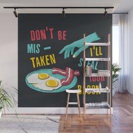 Bacon Thief Wall Mural