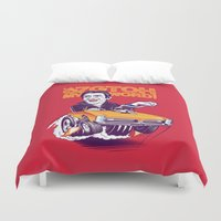 hamster Duvet Covers featuring Hamster by Leon Ryan