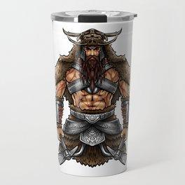 Norseman Berserker | Viking Warrior Valhalla Odin Travel Mug
