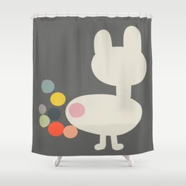 Bunny Farts Shower Curtain