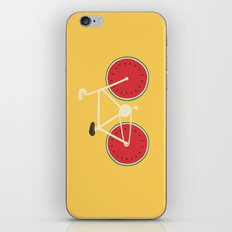 watermelon bike iPhone & iPod Skin