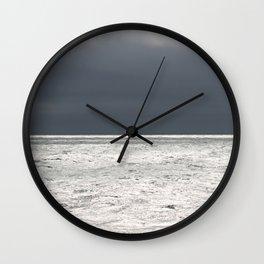 Ominous Ocean Wall Clock