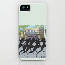 """I'm just gonna run in"" (Bangor Maine Mall) iPhone Case"