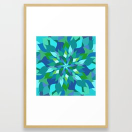 Healing Leaves Framed Art Print