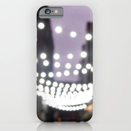 Scottish Photography Series (Vectorized)- Glasgow City Lights iPhone Case
