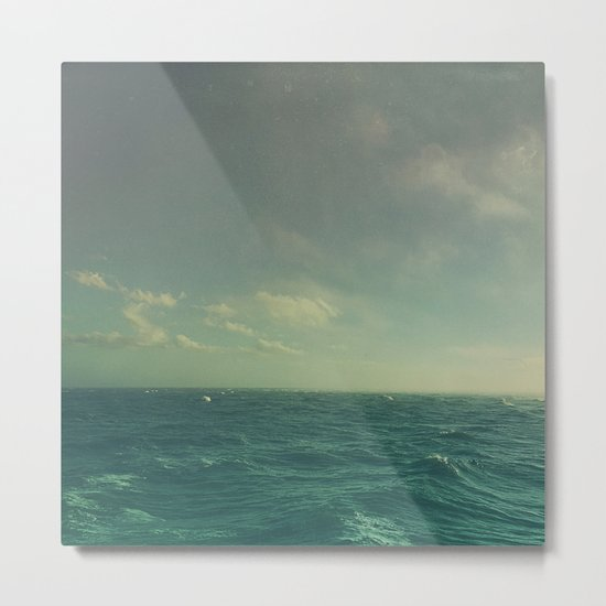 Limitless Sea Metal Print