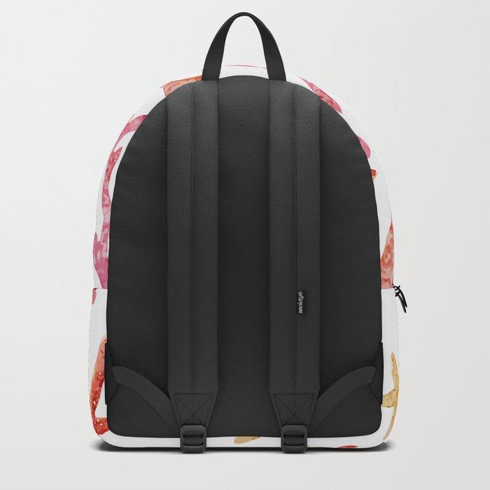 Sea Life Pattern 10 Backpack