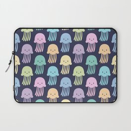 Cute colorful jellyfishes Laptop Sleeve