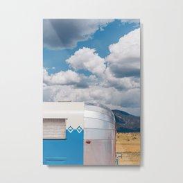 New Mexico Airstream VI Metal Print