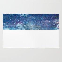 Cosmic fish, ocean, sea, under the water Rug