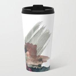 Begin [3]: a minimal abstract mixed media piece Travel Mug