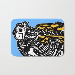Circus Animals by zombieCraig Bath Mat