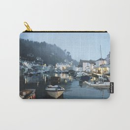 Polperro, Cornwall, Original Illustration. Carry-All Pouch