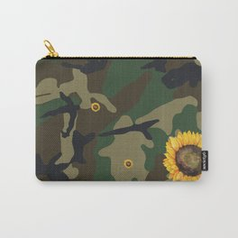 sunflower camo Carry-All Pouch