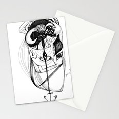plumb line Stationery Cards