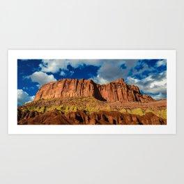 Red Cliffs - Capitol Reef National Park, Utah Art Print