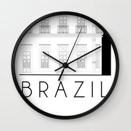 Brazil Facade Wall Clock
