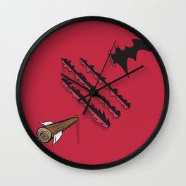 Battle-Damaged Wall Clock