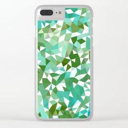 Seaweed Tris II Clear iPhone Case