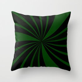spinners or emeralds Throw Pillow