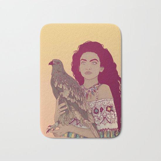 Falcon Lady Bath Mat