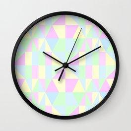 SWEET PIE PASTEL PATTERN Wall Clock