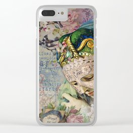 Persuasion Clear iPhone Case