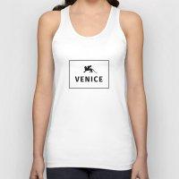 venice Tank Tops featuring Venice by Fabian Bross