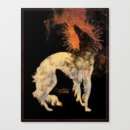 Fiery Beacon Canvas Print