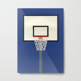 Oakland Basketball Team III Metal Print