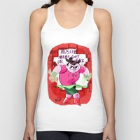 muscle Tank Tops featuring MUSCLE MAMA by Your Pal Ched