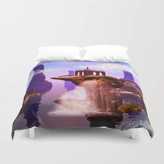 Fantasy world Duvet Cover