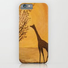Blazing Sun with Giraffe in Shadow Slim Case iPhone 6s