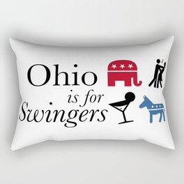 Ohio is for Swingers Rectangular Pillow
