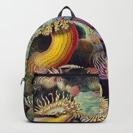 Anemones by Haeckel (Sea Plants and Flowers) Backpack