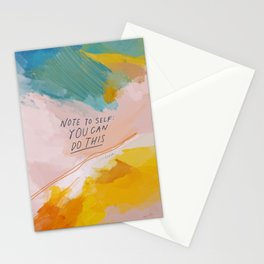 Note To Self: You Can Do This Stationery Cards