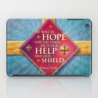shield iPad Cases featuring Our Shield by Peter Gross