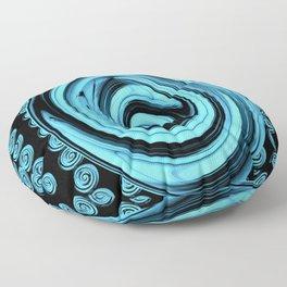 Swirling Blue galaxies.... Floor Pillow