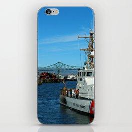 US Coast Guard On Columbia River iPhone Skin
