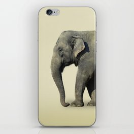 Inner Rose Elephant iPhone Skin