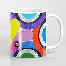 CRAZY COLORFUL Coffee Mug
